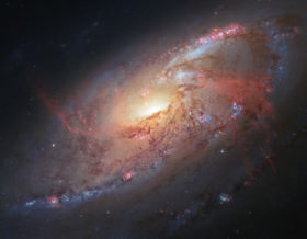 Messier-106-Galaxy
