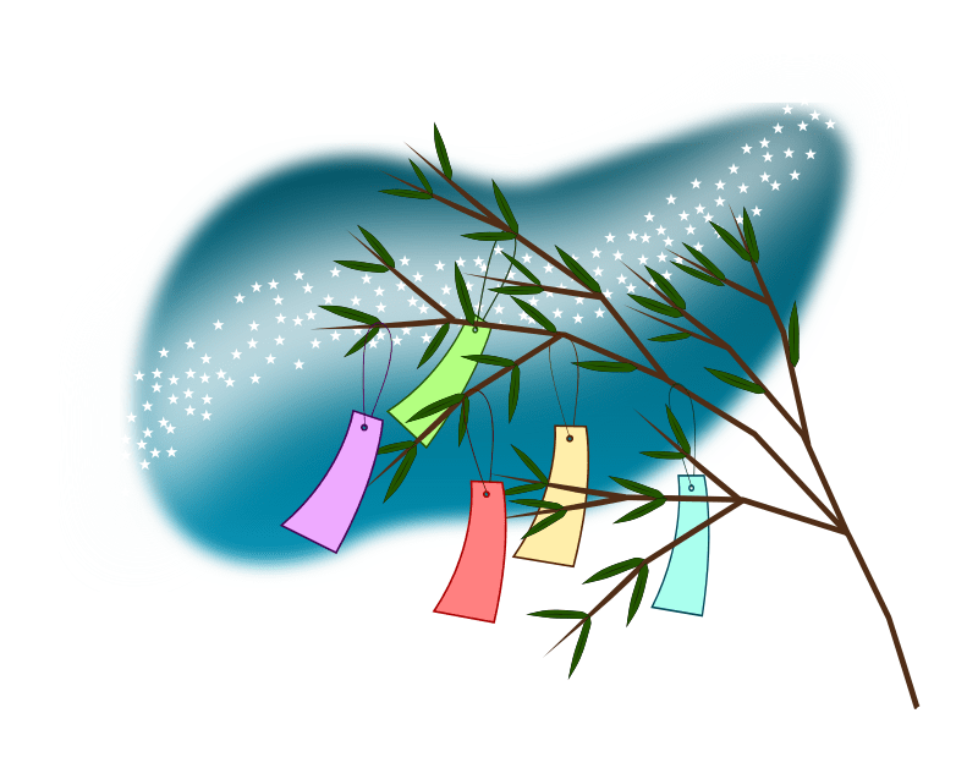 Tanabata-Wish-Tree-with-Milky-Way