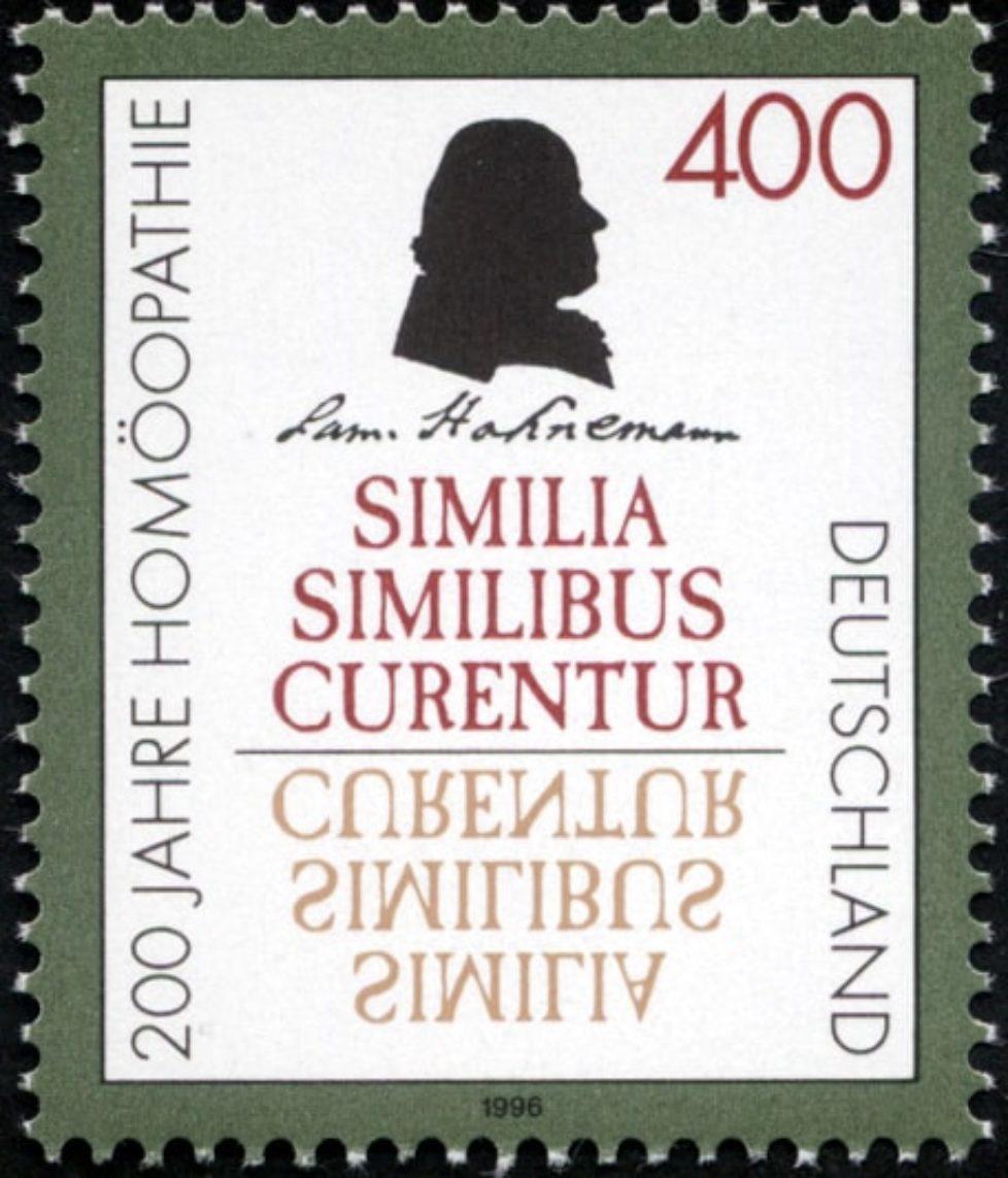 Stamp_Germany_1996_Briefmarke_Homöopathie_Samuel_Hahnemann